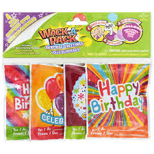 smack the pack balloon valentines bulk wack a pack self inflating birthday balloons 4 ct packs at