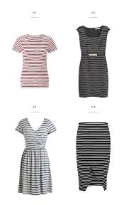 the best stripes to flatter every body type verily