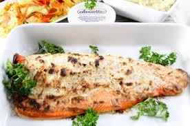 alouette cuisine salmon bake with alouette garlic herbs spreadable cheese