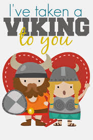 free printable valentine viking restless risa my funny valentine