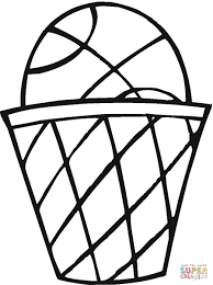 basket ball coloring page free printable coloring pages