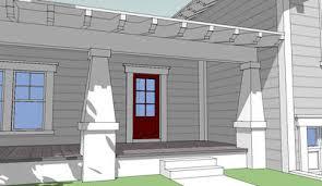 split level house with front porch craftsman split level 44067td architectural designs house plans