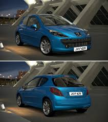 peugeot car garage peugeot 207 gti u002707 by gt6 garage on deviantart