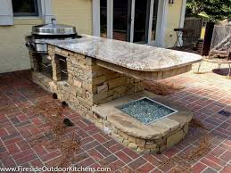 Outdoor Stone Firepits by What Fire Pit Is Right For You Fireside Outdoor Kitchens
