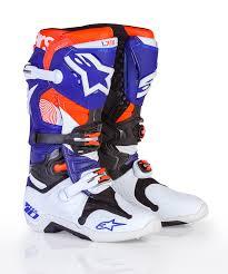 best motocross boots alpinestars limited edition indainapolis tech 10 transworld