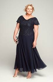 j kara beaded mock two piece chiffon gown plus available at