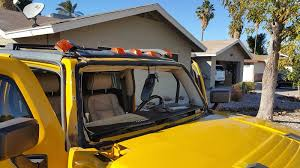 hummer h3 windshield in process of replacing 1st auto glass