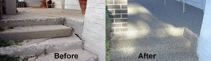 Refinishing Concrete Patio Epoxy Stone Floor Surface Denver Concrete Resurfacing