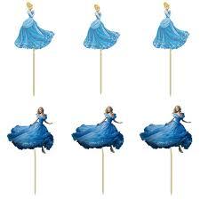 cinderella cupcake toppers 72pcs cinderella cupcake toppers picks wedding