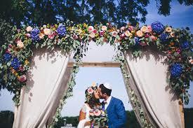 Arche Fleurie Mariage Un Mariage Coloré Au Manoir Des Prévanches