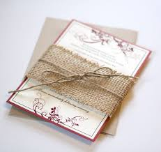 burlap wedding invitations blue and burlap wedding invitations wedding invitation