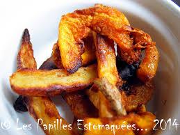 courge cuisiner frites de pommes de terre et courge butternut aux 4 épices les