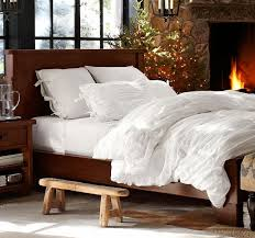Pottery Barn White Comforter Unique Styles Of Ruched Bedding All Modern Home Designs