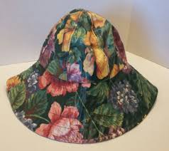 nordic house designs nyc floral rain hat bucket wide brim woman u0027s