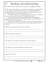 reading comprehension great britain worksheets u0026 activities