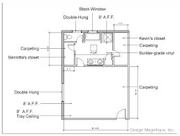 drawing bathroom floor plans blueprint of master bedroom with bathroom beautiful cool floor