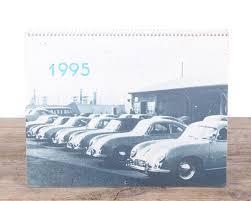 porsche poster vintage 1995 porsche calendar porsche 356 car porsche collectible