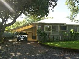 House With Carport Traditional Hawaii Beach House Vrbo