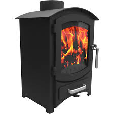 6 22kw wellingore modern log burner multifuel wood burning stove