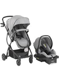 3 in 1 baby toddler travel system all in one reclining stroller