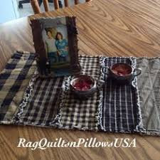 Primitive Table Runners by Country Placemats Quilted Placemats Set 2 Primitive Country