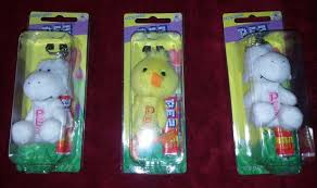 fuzzy easter plush fuzzy easter pez dispensers picture of pez visitor