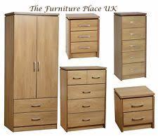Oak Veneer Bedroom Furniture by Wood Veneer Bedroom Chests Of Drawers Ebay