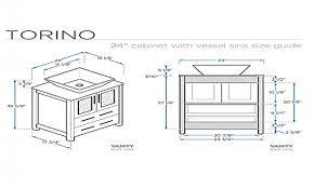 Vanity Dimensions Standard Dimensions Of Bathroom Cabinets Bathroom Design 2017 2018
