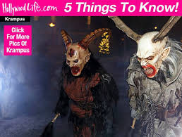 Krampus Costume Krampus 5 Things To Know About Terrifying Horned Christmas Demon