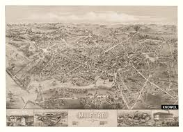 Milford Ohio Map by Beautiful Vintage Map Of Milford Ct From 1882 Knowol
