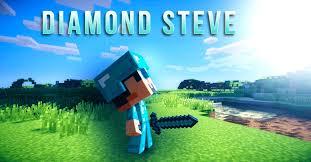 diamond steve minecraft diamond steve wallpaper text by devazztor on deviantart