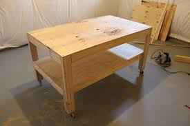 Our Home From Scratch - Work table design plans