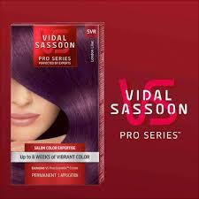 amazon com vidal sassoon london luxe 5vr london lilac 1 kit