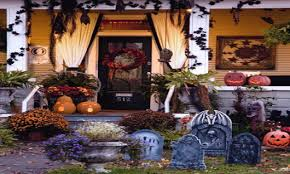 scary outdoor halloween decorations to make front porch halloween