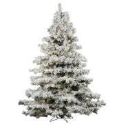 flocked christmas tree flocked christmas trees