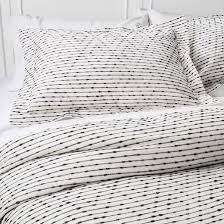 What Is A Duvet Cover And Sham Gray Woven Duvet Cover Set Nate Berkus Target