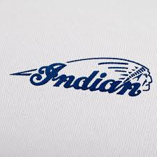 Greece Flag Emoji Motorcycles Logo Embroidery Design