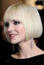 platinum blonde bob hairstyles pictures anna faris short bob haircut platinum blonde bob cut hairstyles