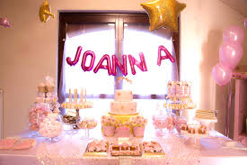 twinkle twinkle birthday sweet table from a twinkle twinkle birthday party via