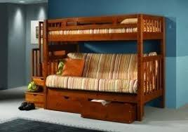 Solid Wood Bunk Beds With Stairs Foter - Solid wood bunk bed