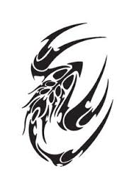 tribal tattoo scorpion logo vinyl stickers sticker vinyl