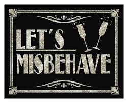 lets misbehave printable art deco roaring 20 u0027s great