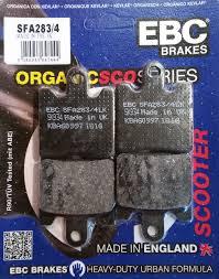 ebc sfa283 4 brake pads front suzuki an400 x k6 burgman 99 06