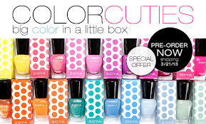 zoya nail polish mini color cuties only 3 00 each free shipping