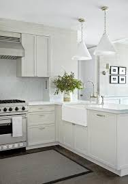 carrara marble kitchen backsplash white and gray kitchen with marble backsplash
