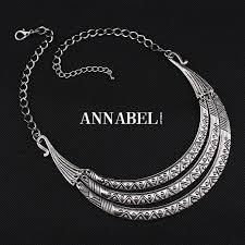 silver vintage necklace images Hot sell 2016 brand jewellery vintage silver choker statement jpg