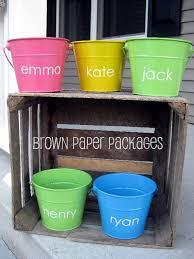 monogrammed easter buckets easter pails simplykierste