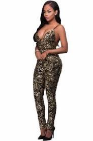 black and gold jumpsuit black gold bare sequins posh jumpsuit slposh