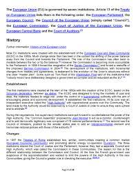 Council Of European Union History European Union Rexadventure
