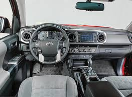 Nicest Truck Interior 2016 Toyota Tacoma Review Consumer Reports